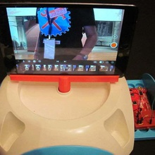 panoramic ipad spinner gadget tablet photography panoramic maker faire  ipad stand ipad mini ipad camera