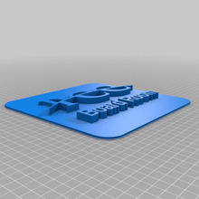 paola chamber commerce board room thin square plate tool 3d printing