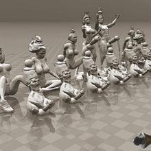 parfait érotique jeu d'échecs naughties les jouets sexy la sculpture défilé de la fierté jouer nude nsfw nu de modèle de l'homme jeu la créature fromage bord jeu art jouet pour adultes +16