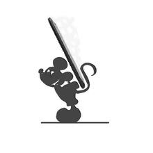 telefon Kulp destek Mickey fare telefon Kulp destek Mickey fare destek telefon telefon poz ırk akıllı telefon Disney Mickey fare Mickey fare çocuk oyuncak oyunlar animasyonlu film dizüstü bilgisayar