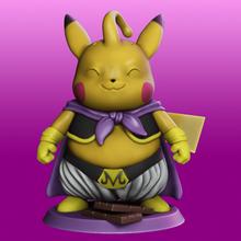 pikabuu pikachu majin buu cosplay pikachu dragon ball pokemon anime cosplay dbz dragon ball z manga majin bu majin buu majin bu miniatures figurines goku