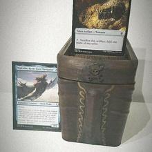 pirate deckbox mtg magic gathering - commander box deck 100 cards magic the gathering mtg deck box deckbox commander edh card game gift card game magic the gathering proxy