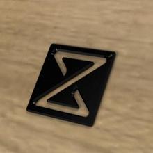 plate keychain 3d print model wood keychain keys personalized logo keychains gadget gadgets symbol symbols z custom 3d print paint plate