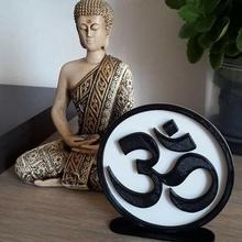 Teller om Symbol Yoga om Mantra Religion