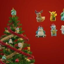 pokemon Navidad adornos lindo pokemon pokebola viodejuegos anime regalo diorama hirama