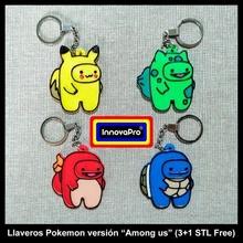 pokemones us versión llavero llave anillo collar colgante pendiente i us pokemon juego us on we chorro bulbasaur Pikachu charmander