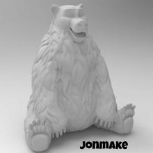 polar bear bear polar animal animals toy child drawing forest figure
