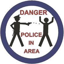 police area - funny sign art fuck police police shooting police area don't shoot me sign funny sign lammesky