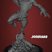 predator figure diorama 40k warhammer animal figure mini minis predator film