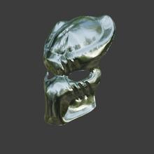 predatore maschera v3 predatore maschera casco alieno xenomorfo facefugger cosplay passatempo divertimento