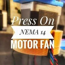 press nema 14 motor fan 3d printer parts cooling fan fan fan mount nema nema 17 parts replacement parts solidoodle solidoodle 2 3d_printer_parts