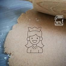 princesa Galleta cortador princesa niños castillo niña Galleta horneando Galleta cortador masa forma cocina hornear galletas speculoos