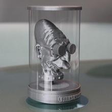 Profesör farnsworth sanat dr balık komik futurama gelecek baş heykel tank oyuncak heykeller