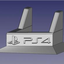 ps4 gordura vertical ficar pé suporte ps4 gordura ps4 playstation videogames brinquedos consoles