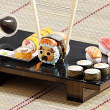 pug suşi sanat pug suşi senaryo diorama sevimli kawaii dekorasyon içinde 3d 3d baskı sanat
