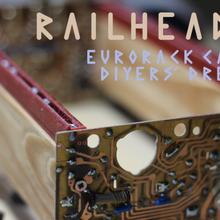 railheads - 3d printed rails wood eurorack cases gadget audio eurorack skiff eurorack rail eurorack