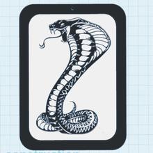 çıngıraklı yılan çerçeve sanat dekor mural hayvan yılan çıngıraklı yılan