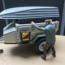 rc 1 10 tiny aluminium boat boat scale realistic various tiny trailer camper offroad axial trx4 scx10 rc4wd 1 10 scale teamraffee raffee team defend d110 d90 crawler rc camping trailers landrover body realistic adventure cell dinky zodiac zodiak boat traxxas conqueror uev barque