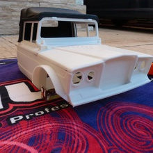 rc body jeep kaiser m715 scale crawler 1 10 various rc body shell jeep kaiser m715 scale crawler 1 10 truck military axial rc4wd traxxas mst scx10 trx4