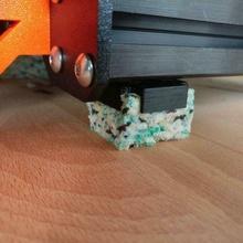 reciclado espuma anti vibração pé prusa anti vibração amortecedor espuma prusa prusa i3 prusa i3 mk3 vibração amortecimento vibração amortecedores 3d_printer_parts