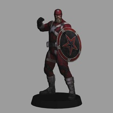red guardian - black widow movie 3d print marvel mcu red guardian 3d model 3d print low poly black widow