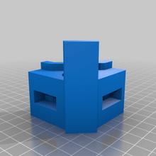 rinforzata anycubic chirone piedi anycubic chirone piedi grande grande dimensioni gamba gambe In piedi sta 3d_printer_parts