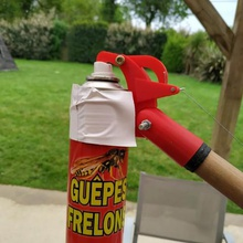 remote sprayer tool insects guepes wasp pulverizer spray extend