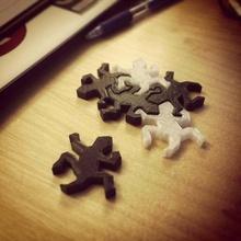 rep tile escher puzzle pezzo escher rettile puzzle