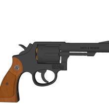 revolver - smith & wesson model 10