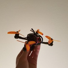 rhr-25 25 quadcopter propeller tool 3d printing working weight tri-blade tri blade tri balde spare shaft rhr 25 real racing race quad blade prototype props propellers mount motor mini micro light kwad hub hq props hp 2530p fully fan mount ethix s3 electric drone custom beyblade 3d printed 3d printable 2540 2535 25 inch 110x 1106 1105 1104 1102 15mm