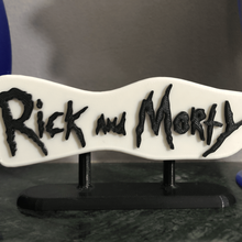 rick morty - logo rick and morty logo design cartoon adult swim rick morty art