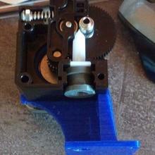 squillare adattatore filamento diametro 2 85 e3d titano e3d titan 3d_printing