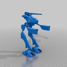 robotech zentradi officier bataille cosse Glaug macross mecha robotech robotech zentradi scifi model_robots