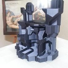 Kaya kale desteksiz Kaya kayalık kale ev model mimari senaryo