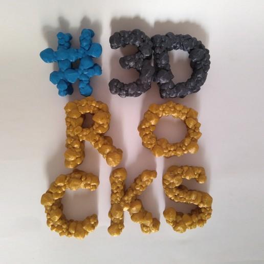 rocky alphabet various ro