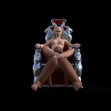 rowan joss naughties la genesi figurina sexy