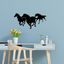 running horses wall art napoleon statue figure france candle home decor decoration leader hero horse toy man fat girl
