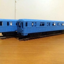 ruso metro coches 81 717 81 714 escala 1 87 ferrocarril escala modelo ferrocarril subterraneo metro ruso juguetes