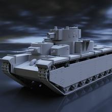 russian tank t-35 scale 1 35 1 48 modeler tank t-35 resin model fdm scale kit assembly 1/35 1/48 worldwar