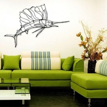 sailfish wall decor tree home decor art decoration life wall house room hope ender fish swordfish