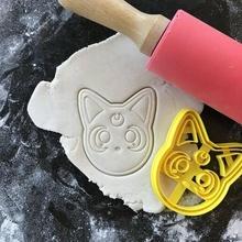 marinero Luna luna gato Galleta cortador marinero Luna anime Luna gato Galleta cortador Galleta cortador 3d modelo