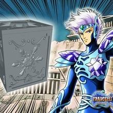 saint seiya plata cristal box