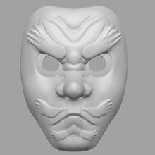 sakonji urokodaki mask demon slayer - fan art cosplay 3d print model art accessories toys battle games art face head slayer urokodaki magan anime horror halloween fashion character helmet demon cosplay mask