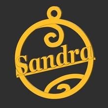 sandra  ornament christmas tree star ball  sandra