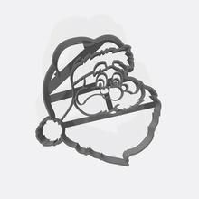 papá noel - santa claus cortador de galletas cortante galletita art papá noel santo el cierre el chucrut nicolas cortador de corte cookie de navidad presenta