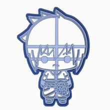 sasuke uchiha - cookie cutter di naruto shippuden vari kakashi hatake uzumaki naso roccia legge sakura haruno sasuke uchiha shikamaru nara cookie cutter anime chibi naruto shippuden