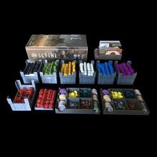 la guadaña de los organizadores juego guadaña juego de mesa de la junta juego juego de geek el organizador contenedor los invasores lejos la expansión