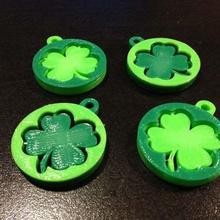 shamrock key tags pendants jewelry keychains tags st patricks shamrock pendant luck key tags keychain irish clover