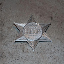 sheriff badge star game props wild west starwars star sheriff badge sheriff shell badge