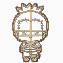 shikamaru nara - cookie cutter di naruto shippuden vari kakashi hatake uzumaki naso roccia legge sakura haruno sasuke uchiha shikamaru nara cookie cutter anime chibi naruto shippuden